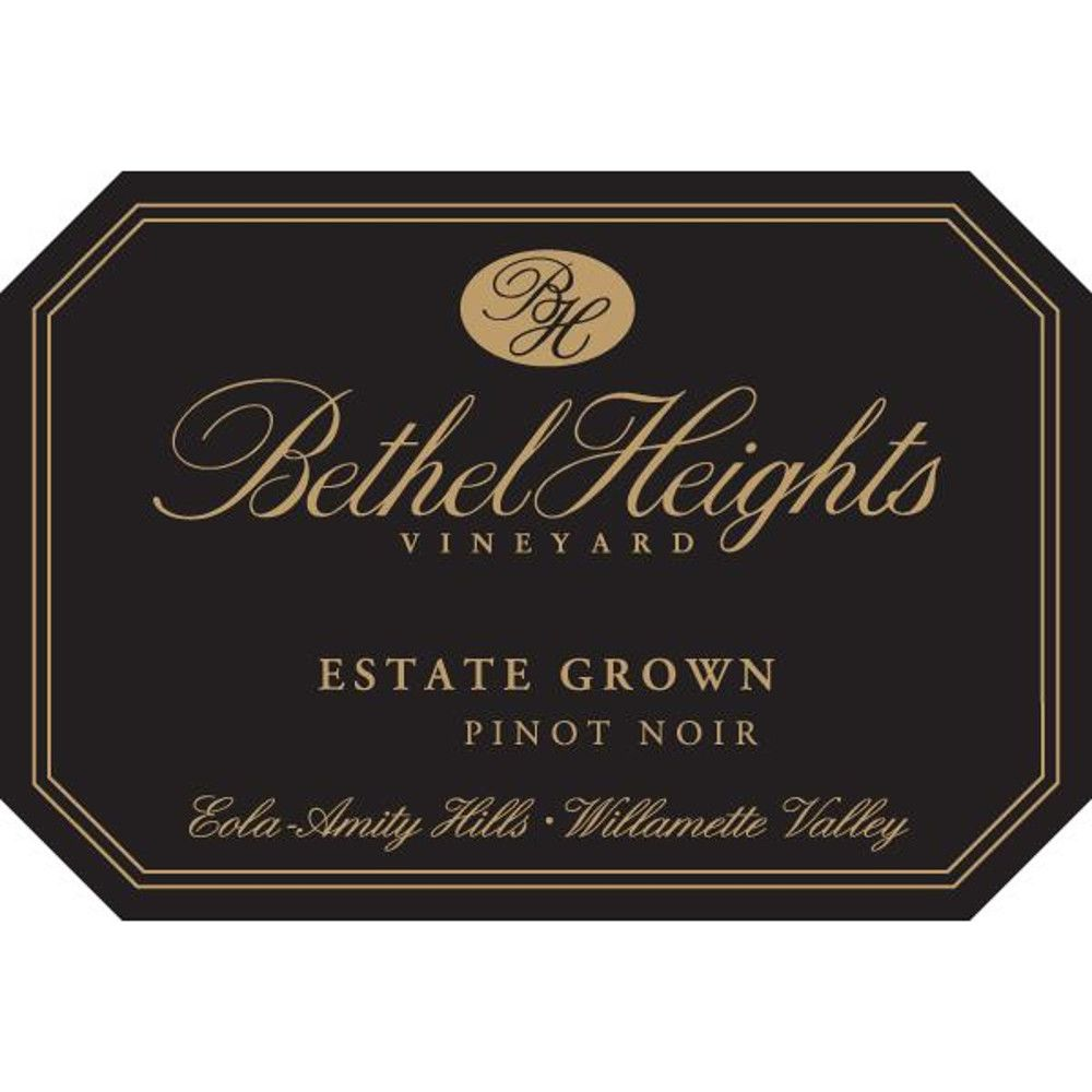 Bethel Heights Estate Pinot Noir 2008 Front Label
