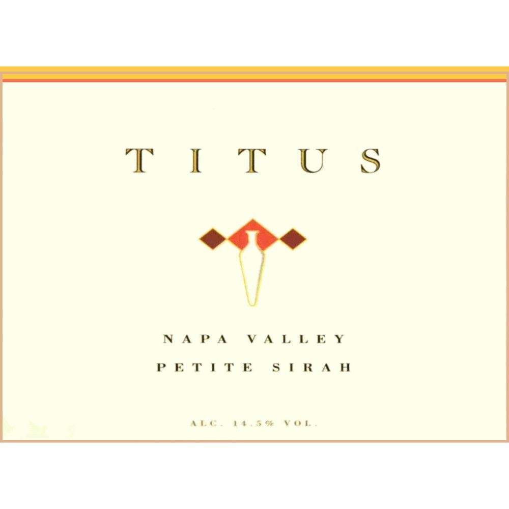 Titus Napa Valley Petite Sirah 2007 Front Label