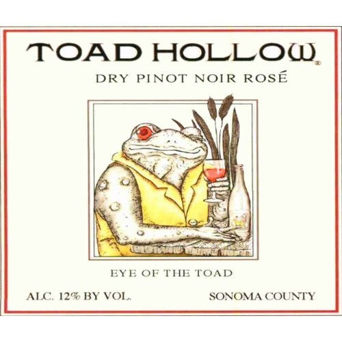 Toad Hollow Eye of the Toad Pinot Noir Rose 2009 Front Label