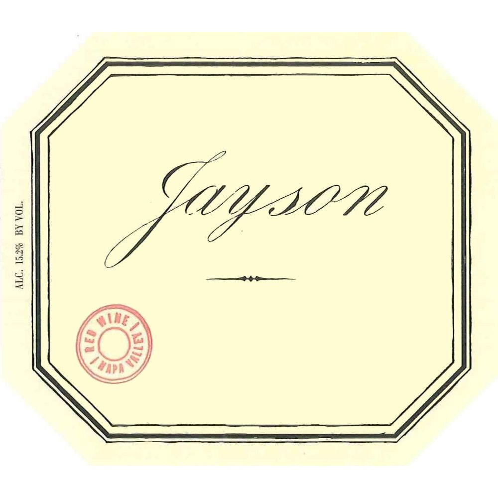 Pahlmeyer Jayson Red 2007 Front Label