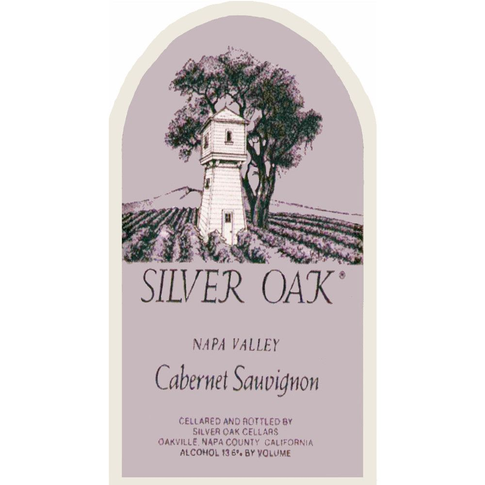 Silver Oak Napa Valley Cabernet Sauvignon 2006 Front Label