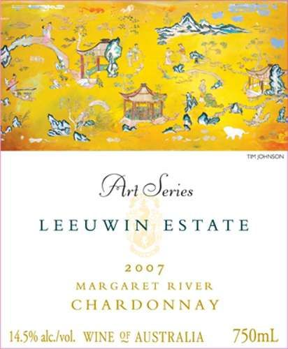 Leeuwin Estate Art Series Chardonnay 2007 Front Label