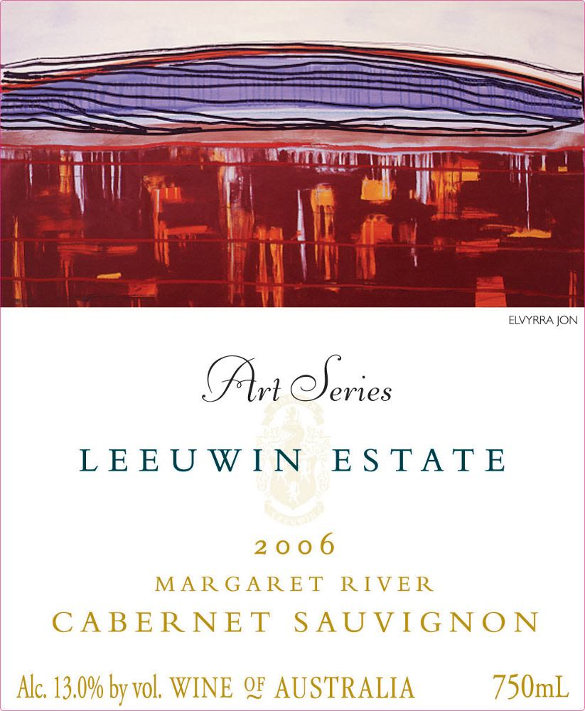 Leeuwin Estate Art Series Cabernet Sauvignon 2006 Front Label