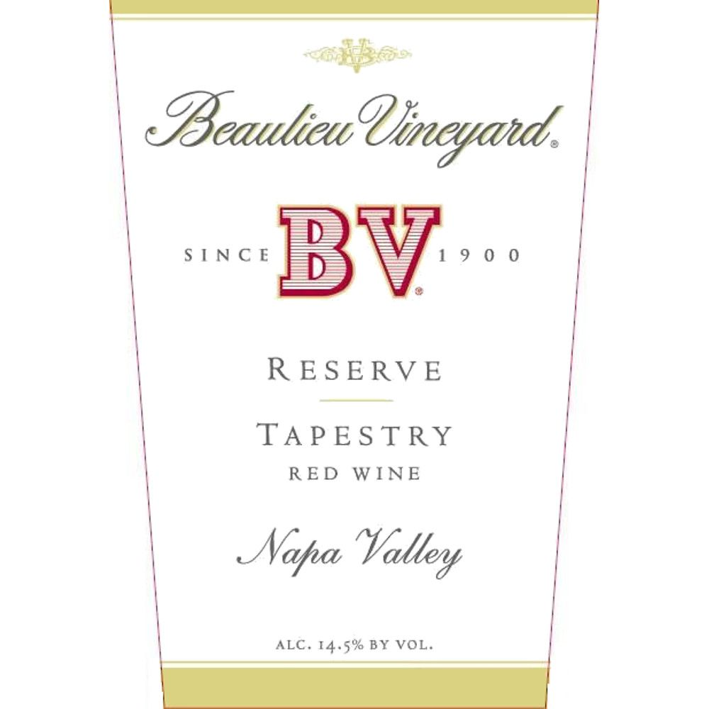 Beaulieu Vineyard Reserve Tapestry 2007 Front Label
