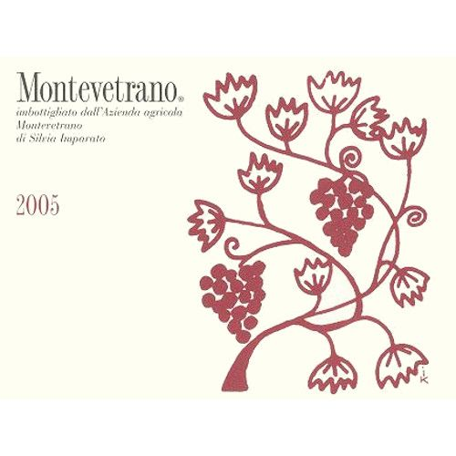 Montevetrano Colli di Salerno 2005 Front Label