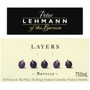 Peter Lehmann Layers Red 2008 Front Label