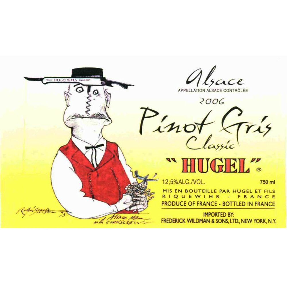 Hugel Classic Pinot Gris 2006 Front Label