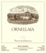 Ornellaia (375ML half-bottle) 2002 Front Label