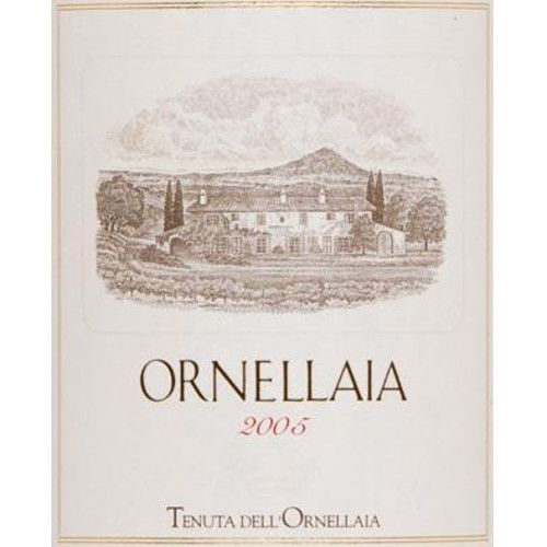 Ornellaia (375ML half-bottle) 2005 Front Label