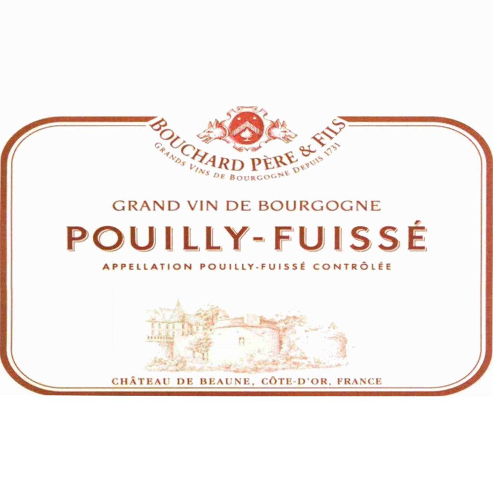 Bouchard Pere & Fils Pouilly-Fuisse 2008 Front Label