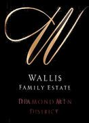 Wallis Family  Estate Diamond Mountain Cabernet Sauvignon 2006 Front Label