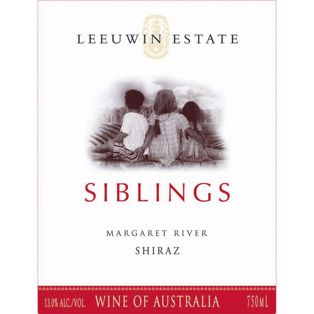 Leeuwin Estate Siblings Shiraz 2007 Front Label