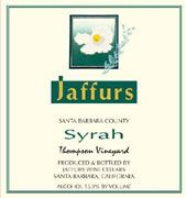 Jaffurs Thompson Vineyard Syrah 2007 Front Label
