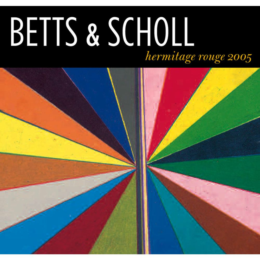 Betts & Scholl Hermitage Rouge 2005 Front Label