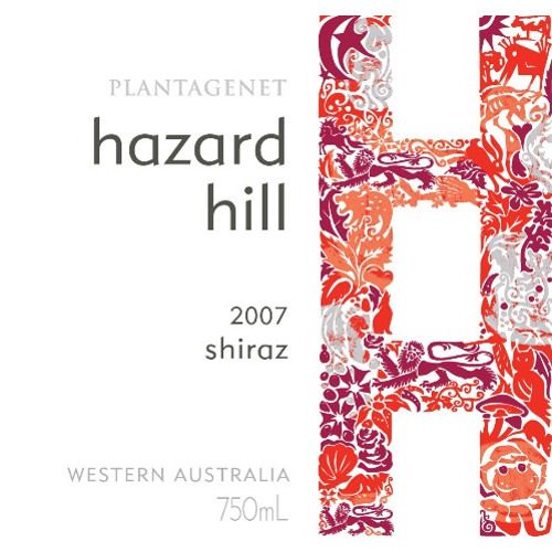 Plantagenet Hazard Hill Shiraz 2007 Front Label