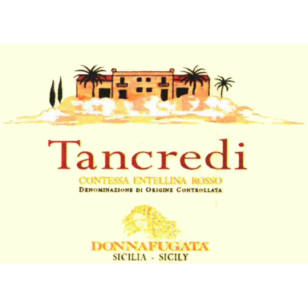 Donnafugata Tancredi 2006 Front Label