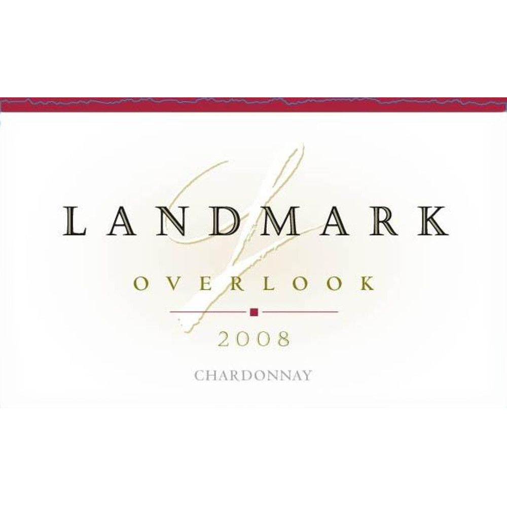 Landmark Overlook Chardonnay 2008 Front Label