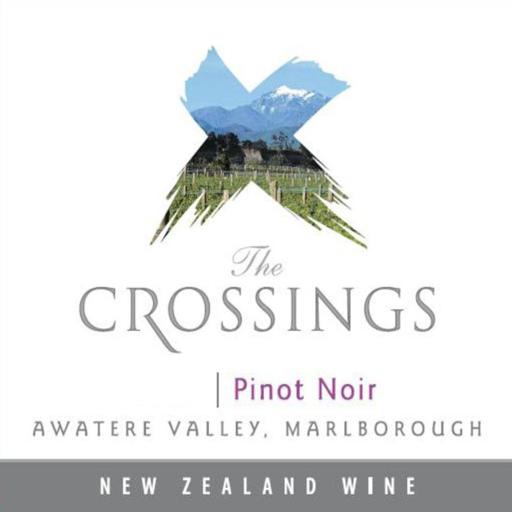 The Crossings Pinot Noir 2009 Front Label