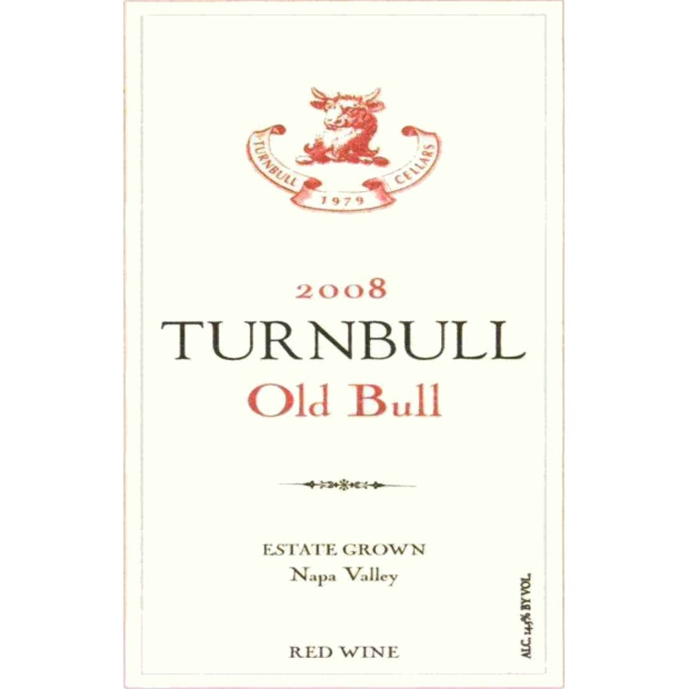 Turnbull Old Bull Red Blend 2008 Front Label
