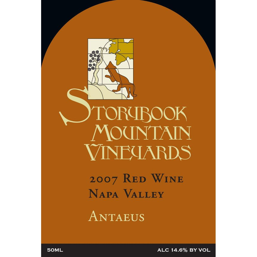 Storybook Mountain Antaeus 2007 Front Label