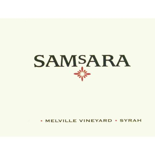 Samsara Melville Vineyard Syrah 2007 Front Label