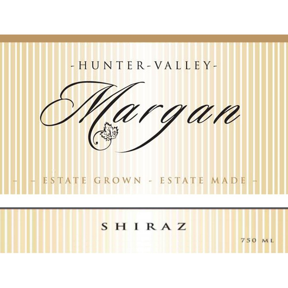 Margan Family Shiraz 2006 Front Label