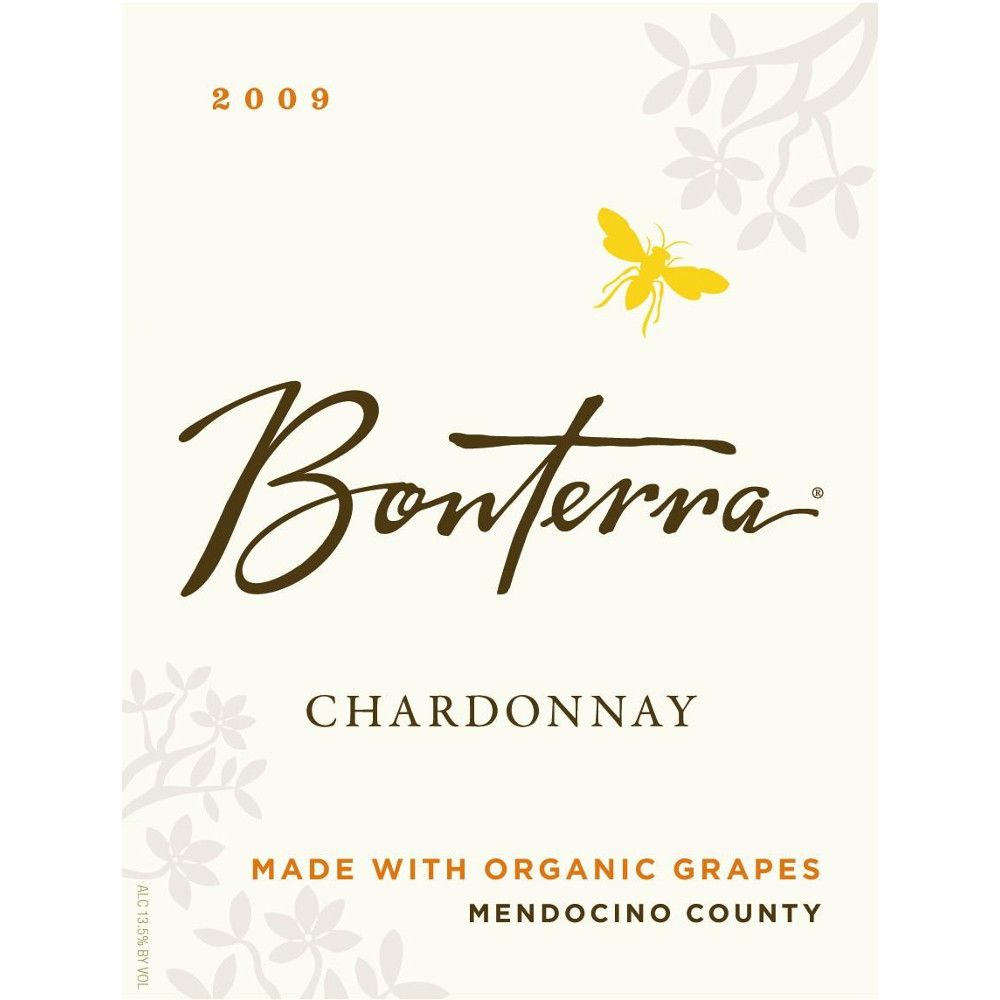 Bonterra Organically Grown Chardonnay 2009 Front Label