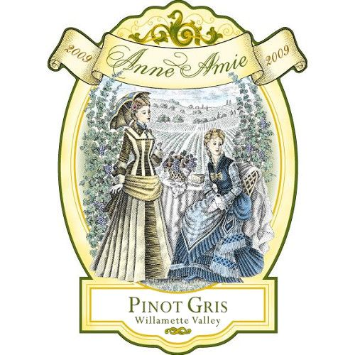 Anne Amie Pinot Gris 2009 Front Label