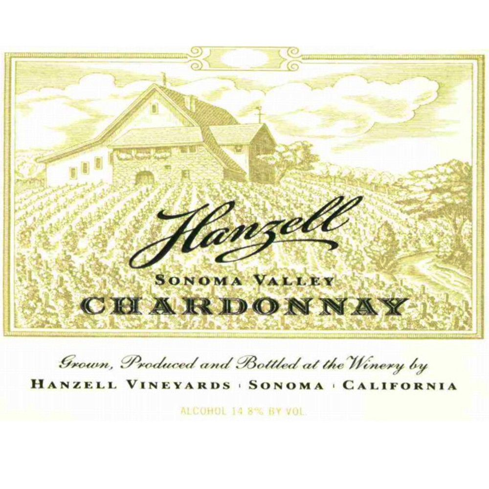 Hanzell Chardonnay 2008 Front Label
