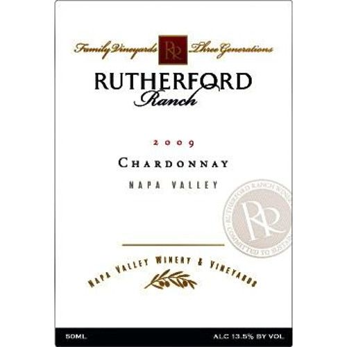 Rutherford Ranch Chardonnay 2009 Front Label