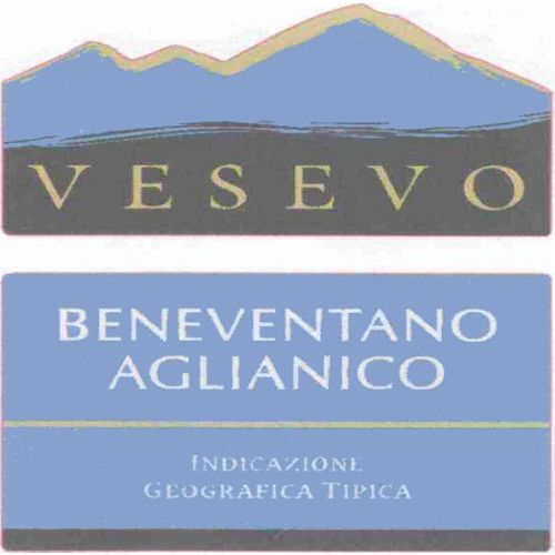 Vesevo Beneventano Aglianico 2009 Front Label