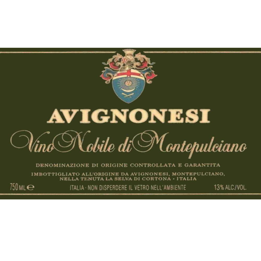 Avignonesi Vino Nobile di Montepulciano (375ML half-bottle) 2006 Front Label