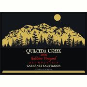 Quilceda Creek Galitzine Vineyard Cabernet Sauvignon 2006 Front Label