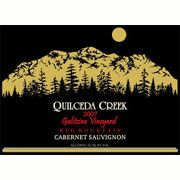 Quilceda Creek Galitzine Vineyard Cabernet Sauvignon 2007 Front Label