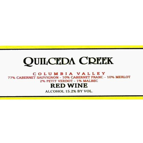 Quilceda Creek Columbia Valley Red 2007 Front Label