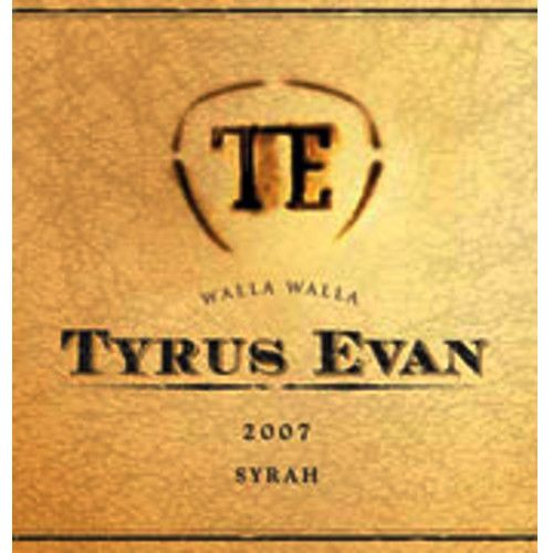 Ken Wright Cellars Tyrus Evan Walla Walla Valley Syrah 2007 Front Label