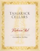 Tamarack Cellars Firehouse Red 2008 Front Label