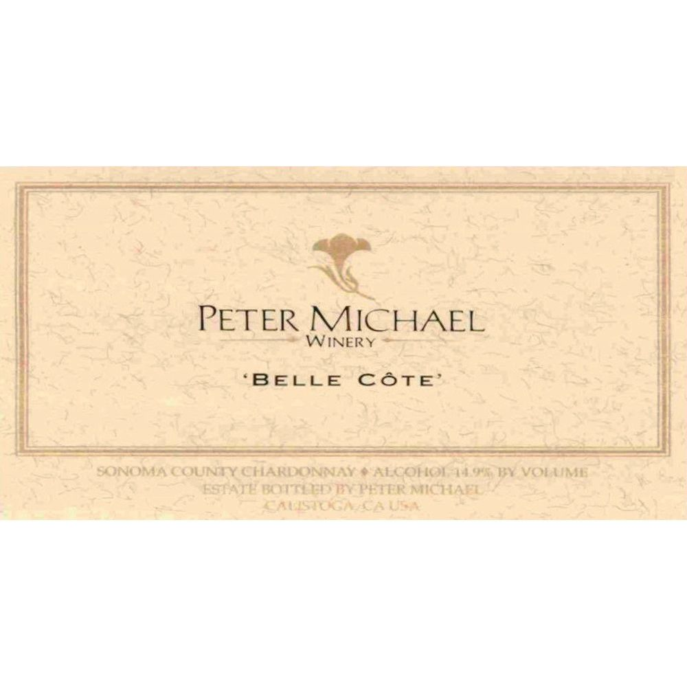 Peter Michael Belle Cote Chardonnay 2008 Front Label