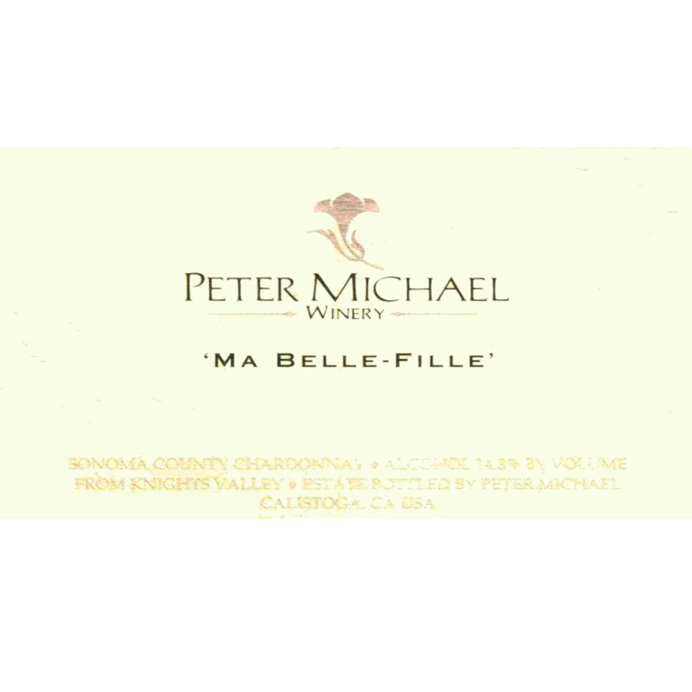 Peter Michael Ma Belle Fille Chardonnay 2008 Front Label