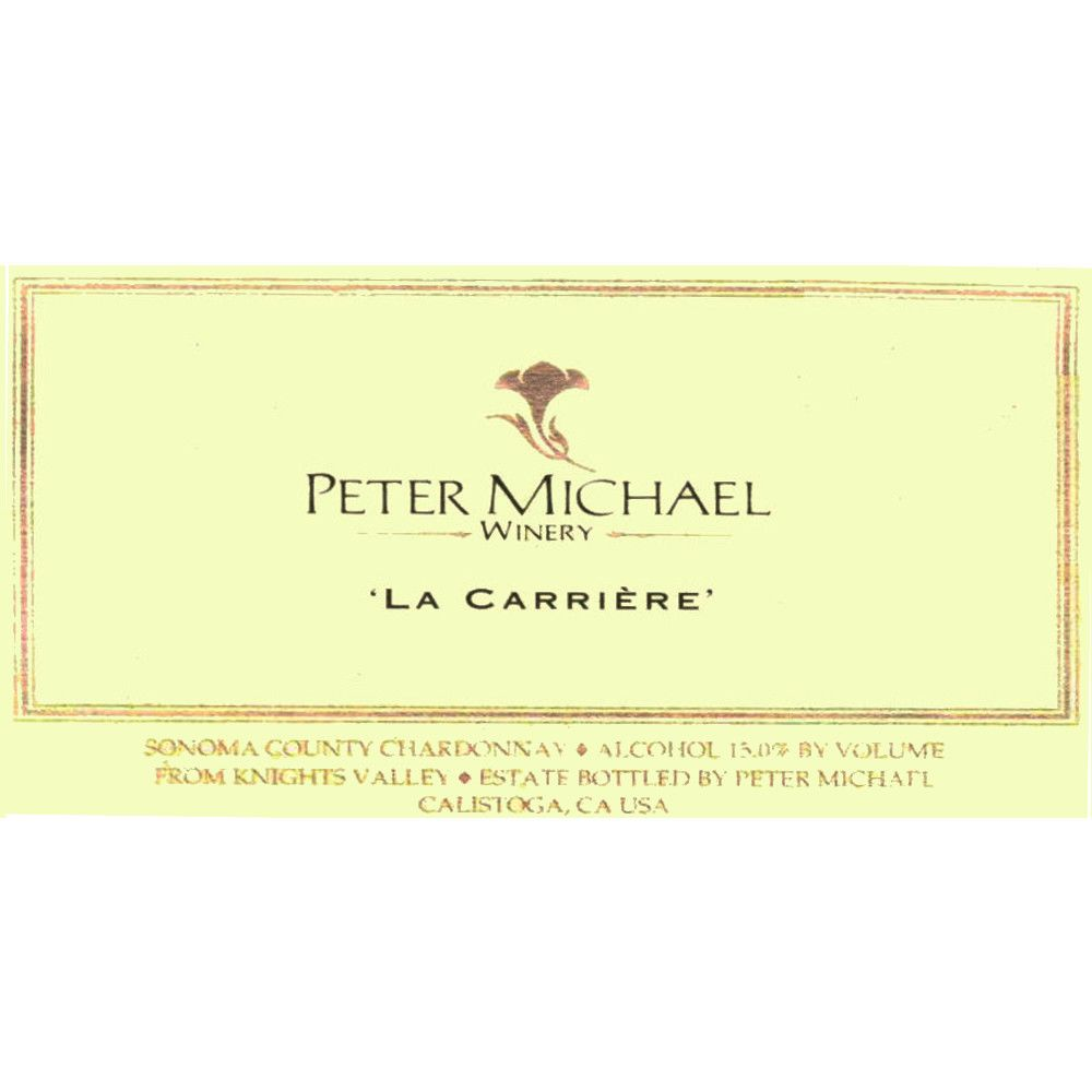 Peter Michael La Carriere Chardonnay 2008 Front Label
