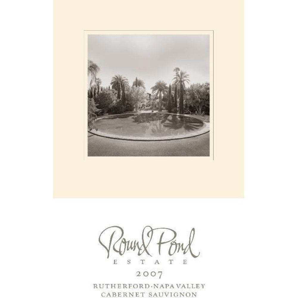 Round Pond Estate Rutherford Cabernet Sauvignon 2007 Front Label