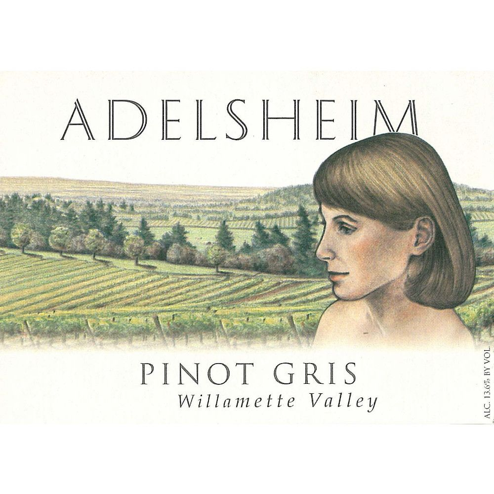 Adelsheim Pinot Gris (375ML half-bottle) 2009 Front Label