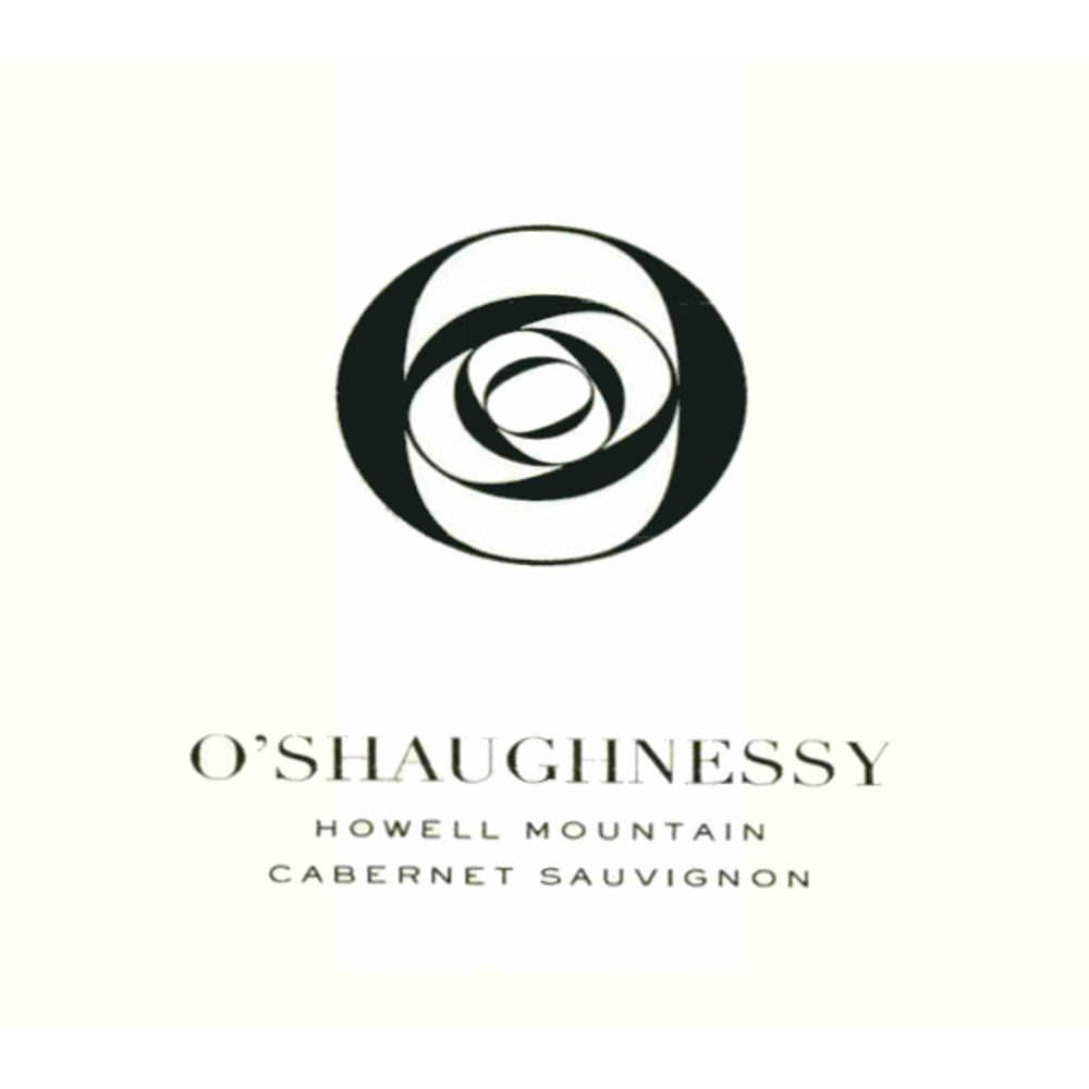 O'Shaughnessy Howell Mountain Cabernet Sauvignon 2007 Front Label