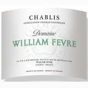 William Fevre Chablis Domaine 2009 Front Label