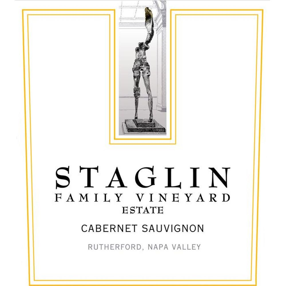 Staglin Cabernet Sauvignon (stained label) 2007 Front Label