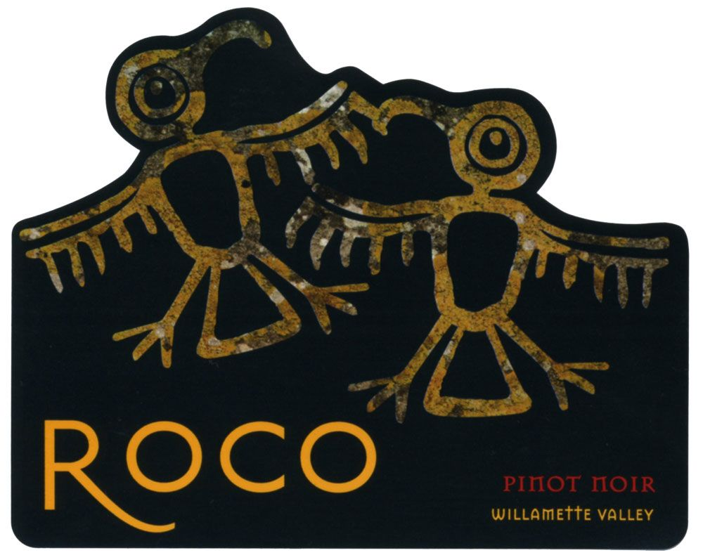 Roco Willamette Valley Pinot Noir 2008 Front Label