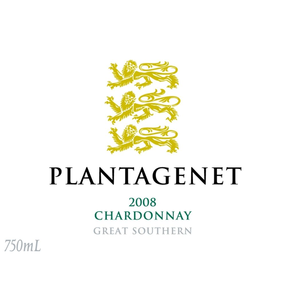 Plantagenet Great Southern Chardonnay 2008 Front Label