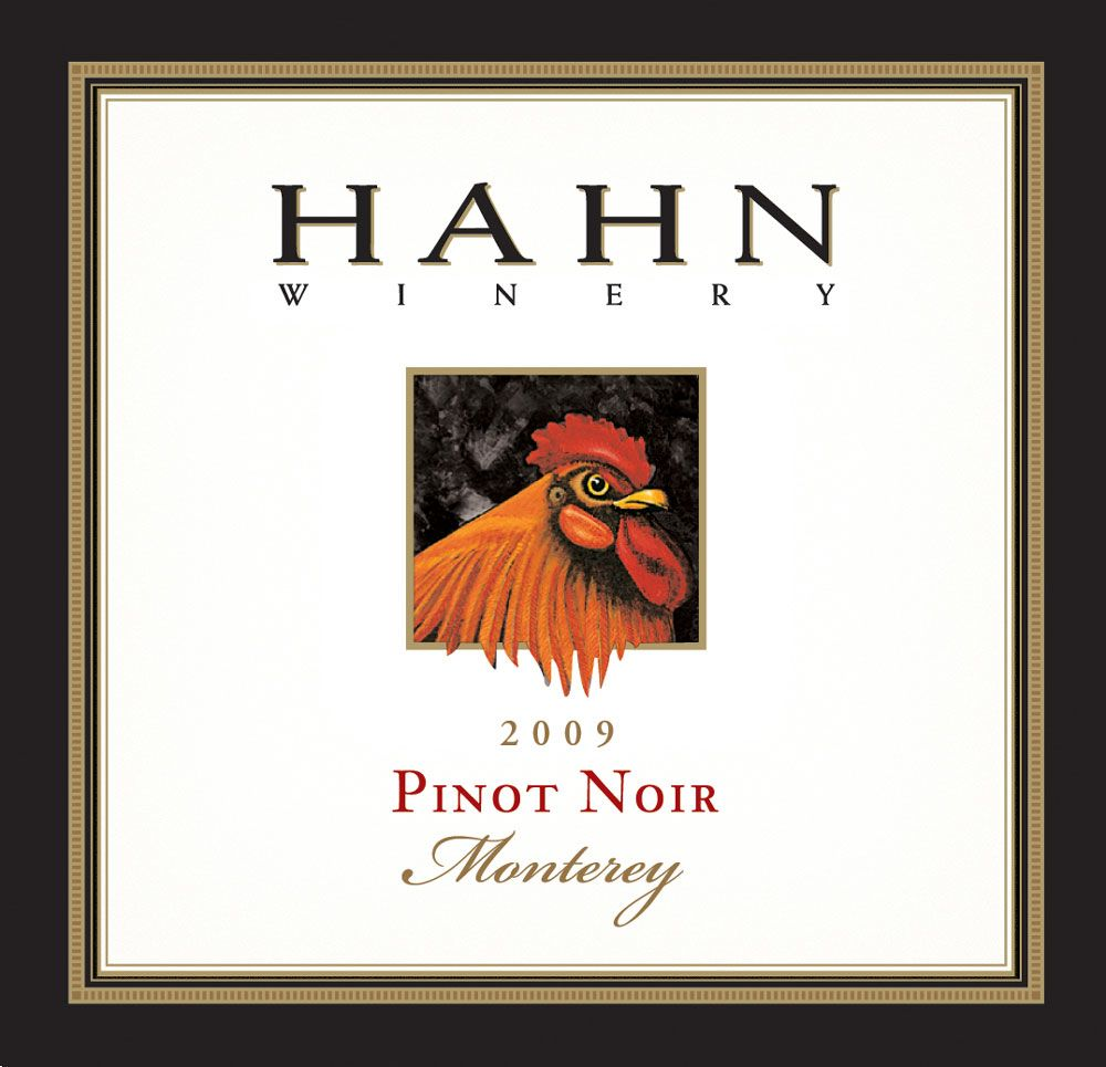 Hahn Winery Monterey Pinot Noir 2009 Front Label