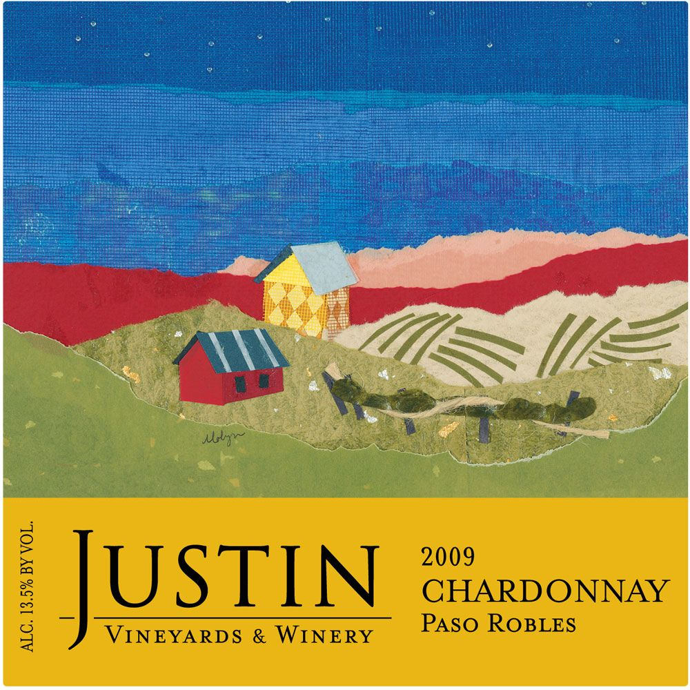 Justin Chardonnay 2009 Front Label