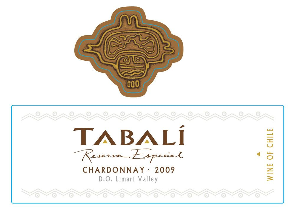 Tabali Chardonnay Reserva Especial 2009 Front Label